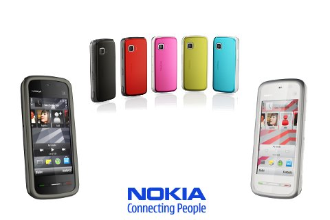 nokia 5230 neues touchscreen handy. Black Bedroom Furniture Sets. Home Design Ideas
