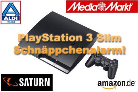 playstation 3 slim angebote aldi media markt amazon und. Black Bedroom Furniture Sets. Home Design Ideas