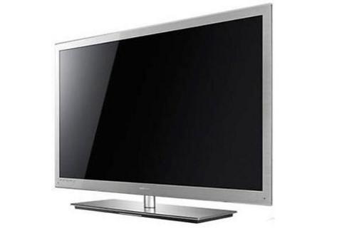 perfektes bild auch im stand by der neue led tv ue 40 c 9090 von samsung. Black Bedroom Furniture Sets. Home Design Ideas