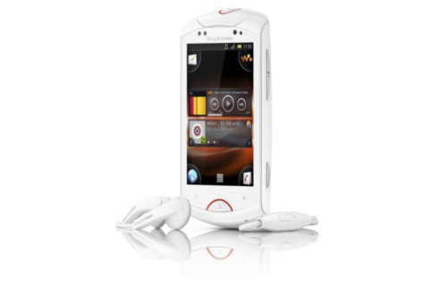 sony ericsson live das erste walkman handy mit android betriebssystem. Black Bedroom Furniture Sets. Home Design Ideas