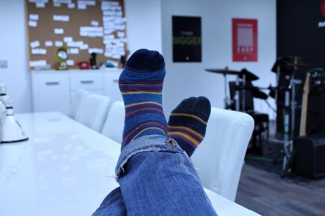 Welcher Socken-Typ bist Du? Bunt oder klassisch?
