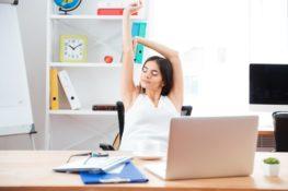 Fitness am Laptop