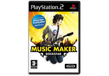 magix music maker rockstar f r playstation2 rocken auf hohem niveau finde. Black Bedroom Furniture Sets. Home Design Ideas