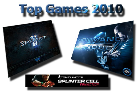 Top Games für 2010