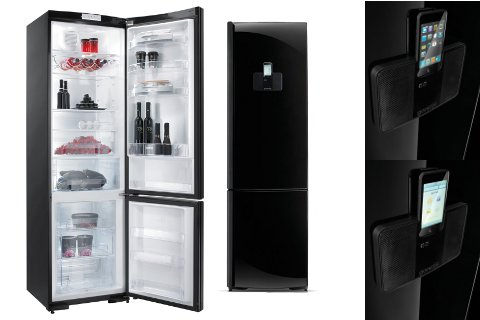Gorenje Kühlschrank Ist Laut : Coole kombi von gorenje kühlschrank und ipod dockingstation in